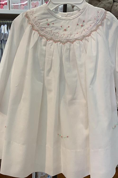 Sarah Louise Pink/Green Flower Dress