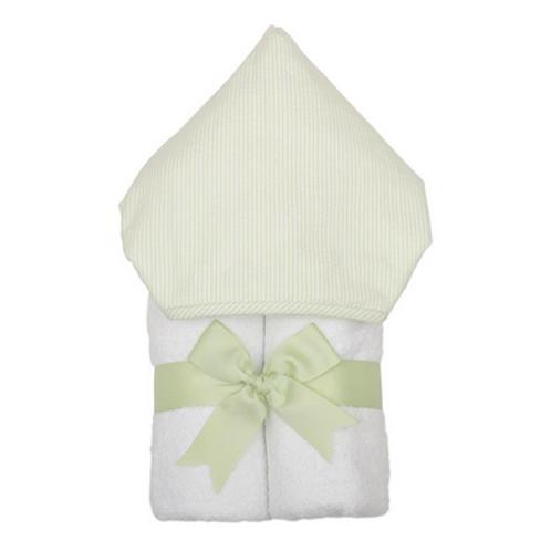 3MARTHAS GREEN SEERSUCKER TOWEL