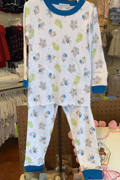 Magnolia Baby Knights 2 Piece Pajama