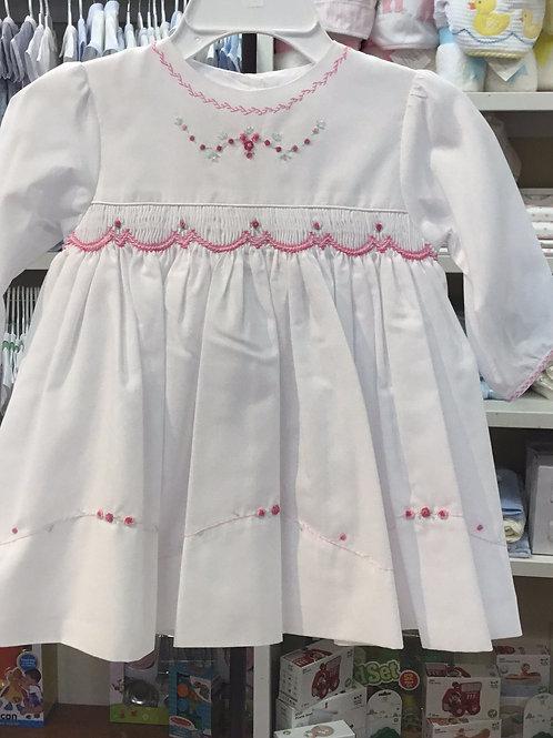 Sarah Louise Pink Flower Dress
