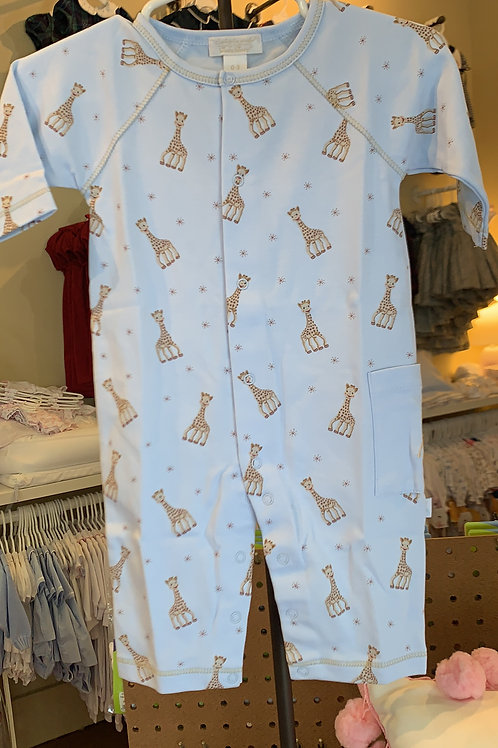 Kissy Kissy Blue Giraffe Play Suit