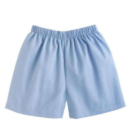 Basic Short Light blue twill
