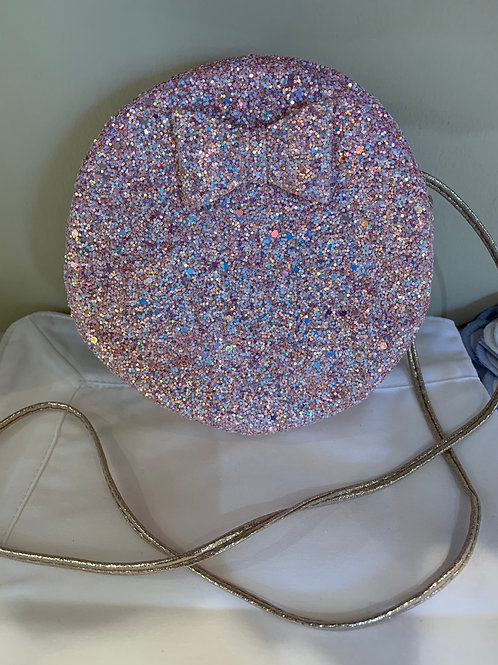 Glitter Circle Purse