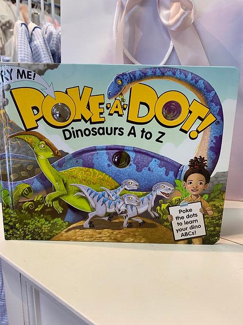 Poke-A-Dot, Dinosaurs A-Z Book