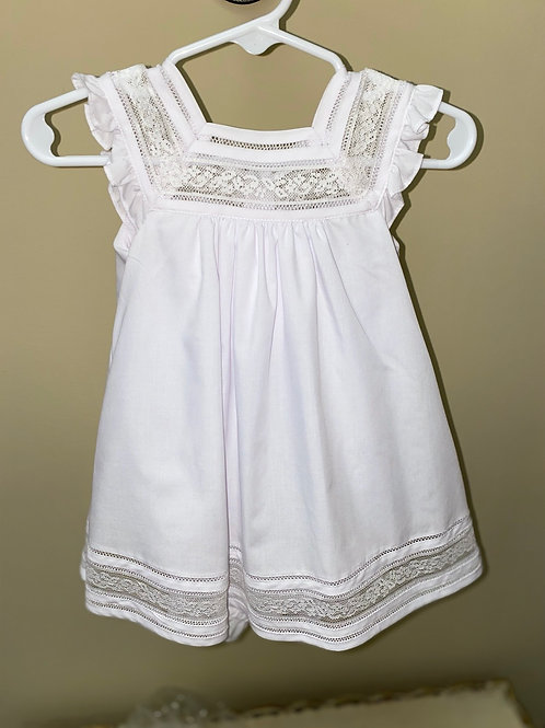 Luli & Me White Lace Dress