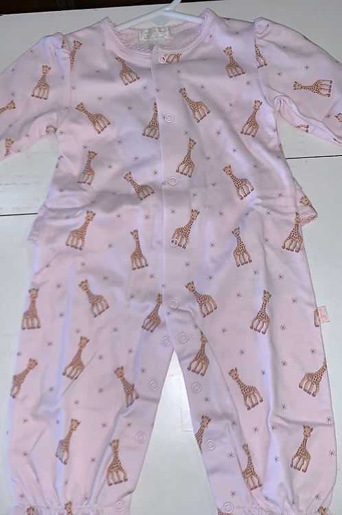 Kissy Kissy Pink Giraffe Play Suit