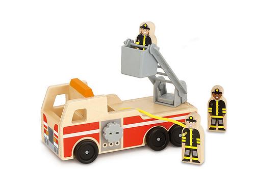 M&D Wooden Firetruck