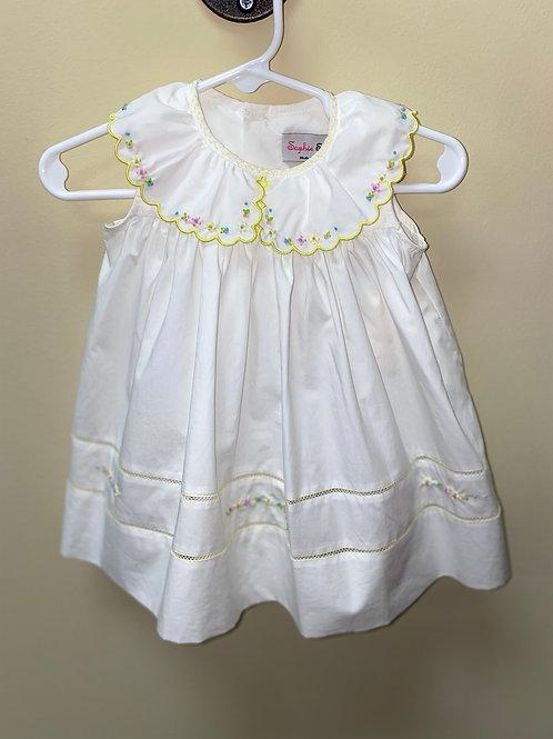 Sophie & Lucas Yellow Floral Dress