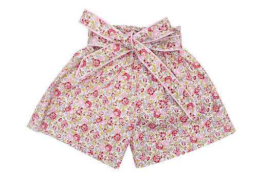 Kathy Pink Floral Shorts