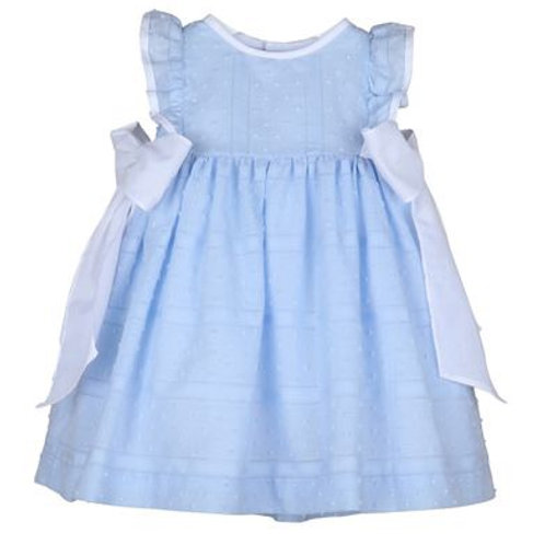 Luli & Me Ruffle Bow Dress