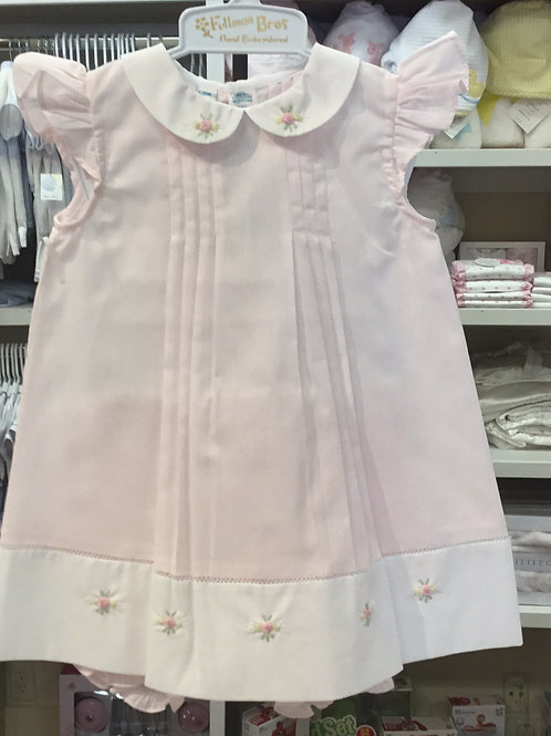 Feltman Brothers Pink Pleat Set