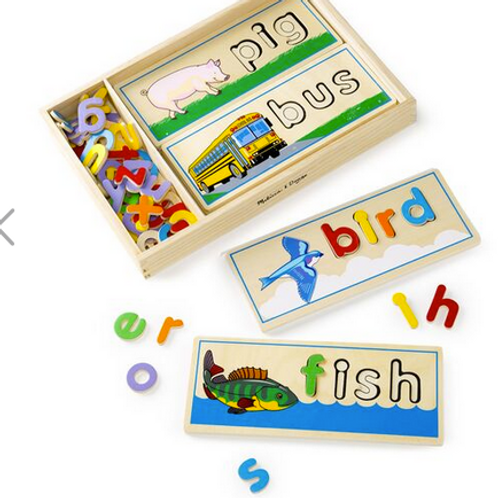 see and spell puzzle