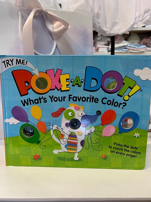 Poke-A-Dot, What's Your Favorite Color? Book