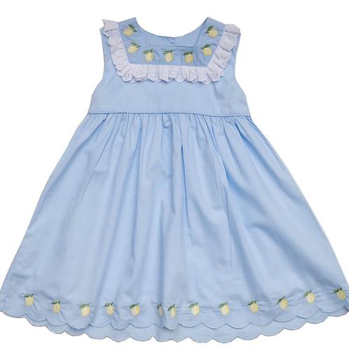 Lulu Blue Lemon Dress