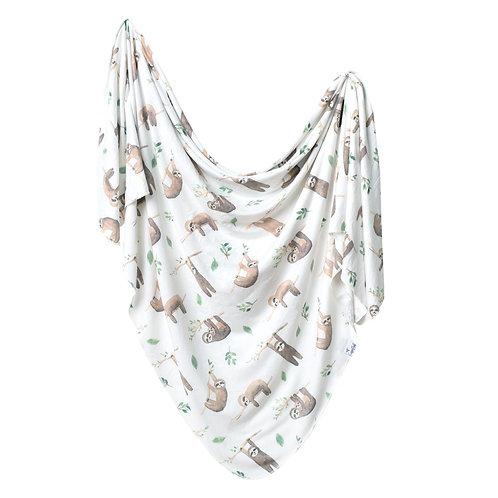 Copper Pearl Noah Swaddle Blanket