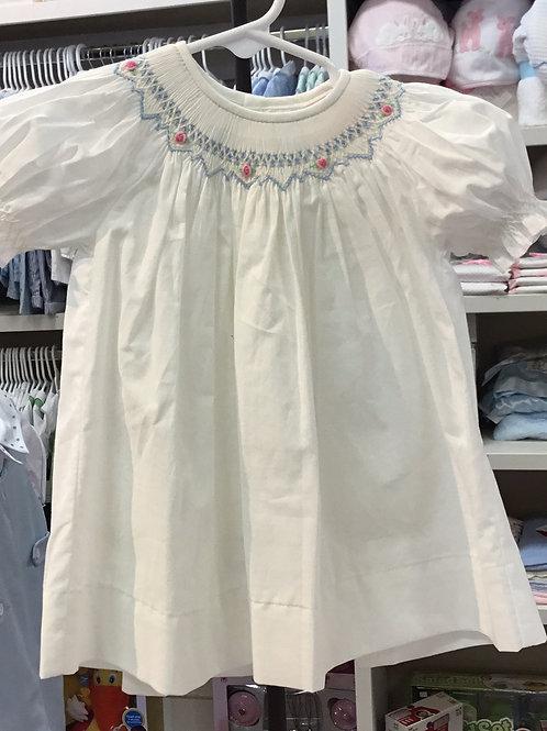 Sen Baby Blue/Flower Dress