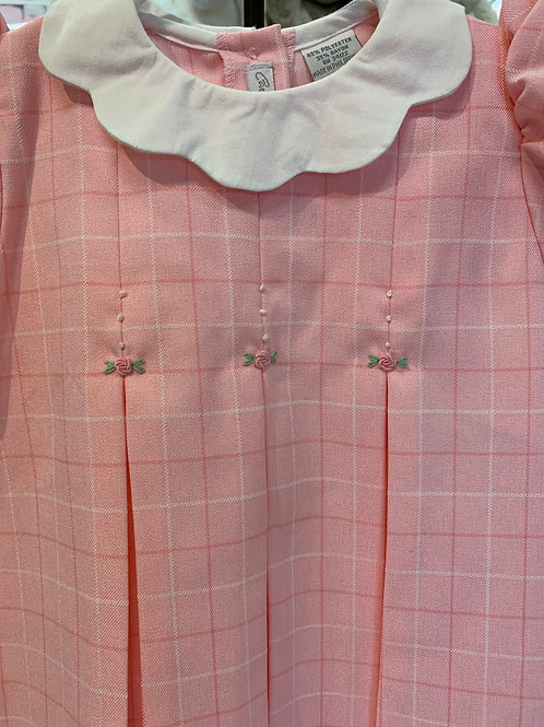 Carriage Boutique Pink Plaid Dress