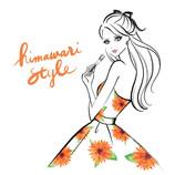 Himawari style Logo & Banner