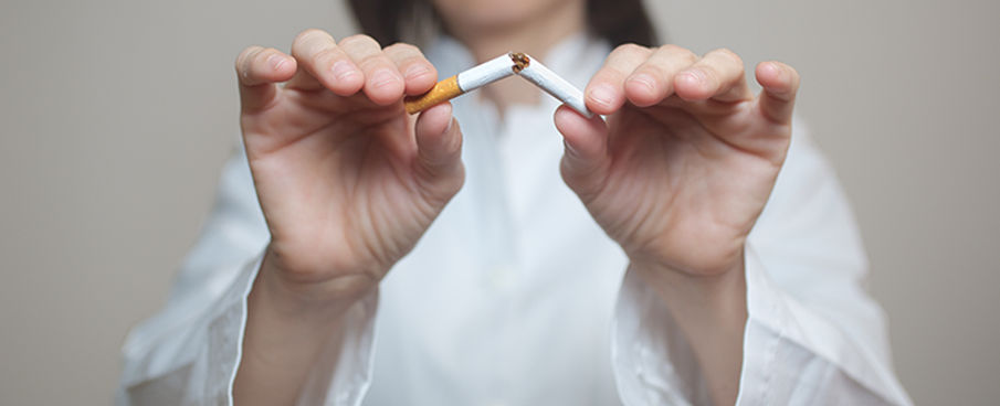 Dejarde fumar con acuputura