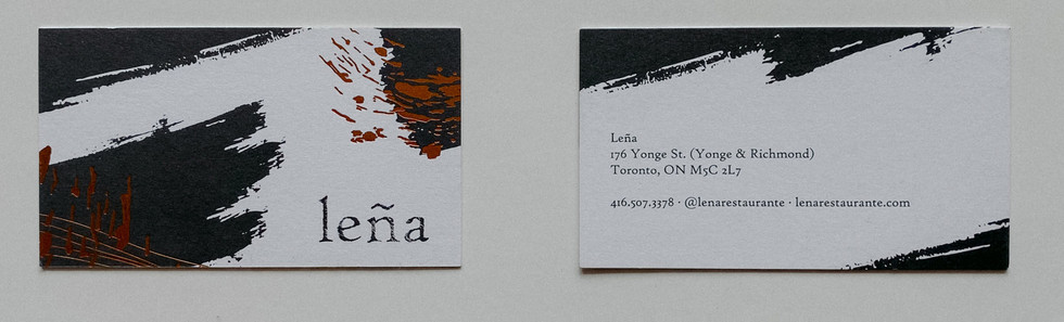 Lena Business Cards