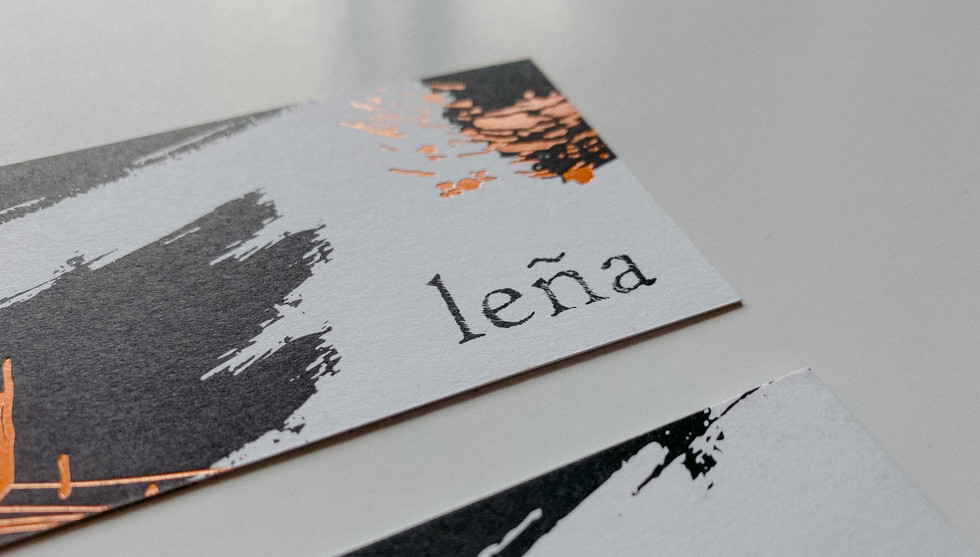 Lena Business Card Detail