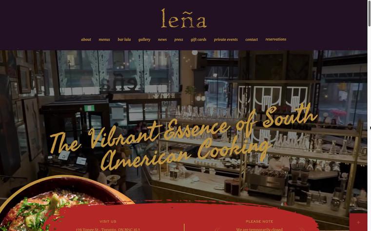 Lena Website