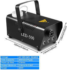 Smoke Machine 500W
