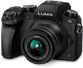 Panasonic LUMIX DMC-G7KEB-K Professional Camera with 12-60 mm LEICA Lens