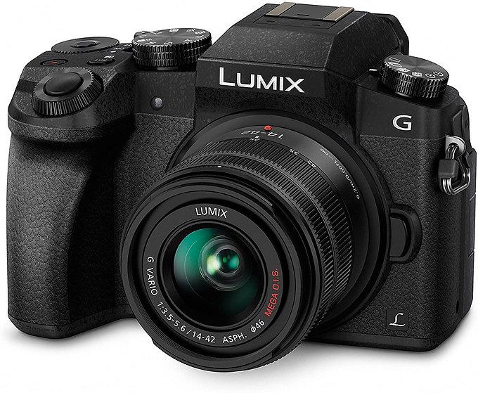 Panasonic LUMIX DMC-G7KEB-K Professional Camera with 12-60 mm LEICA Lens