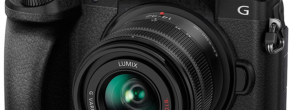 Panasonic LUMIX DMC-G7KEB-K Professional Camera with 14-42 mm Lens