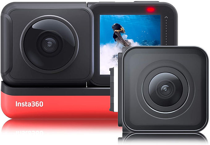 Insta360 ONE R Twin Edition with 360-deg and 4K Wide