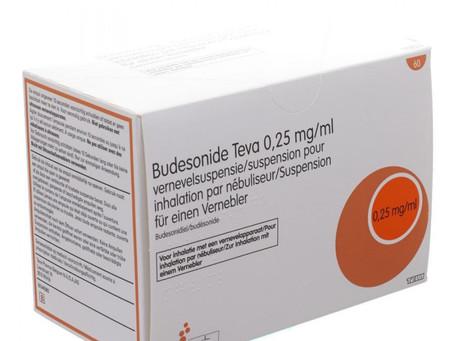 Le budésonide inhalé réduit le risque de détérioration clinique de 91% chez les patients Covid