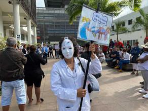 Obligation vaccinale : les soignants manifestent à la Réunion ce vendredi