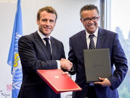 En deux ans, Macron a multiplié par 8 la contribution française à la très incompétente OMS