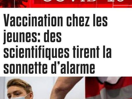 Vaccination chez les jeunes: des scientifiques tirent la sonnette d'alarme
