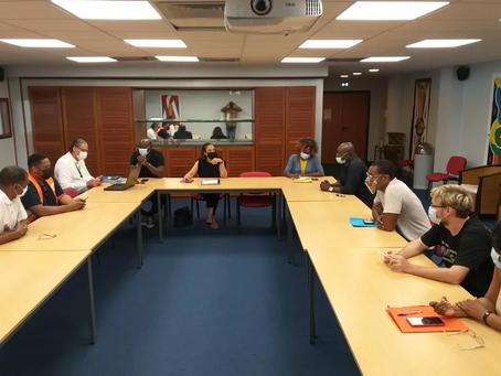 En Guyane, annulation de l'obligationvaccinale à l'aéroport Félix-Eboué