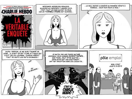 """Charlie Hebdo: La """"Véritable Enquête"""""""