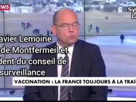 Intervention de Xavier Lemoine Maire de Montfermeil sur l'incitation à la vaccination