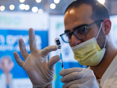 Israël: le responsable de la lutte contre le covid appelle à une 4e dose de vaccin