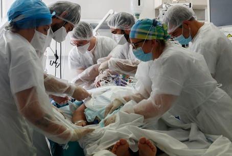 En plein Covid, plus de 1.800 lits d'hôpitaux fermés ou supprimés en trois mois, selon FO