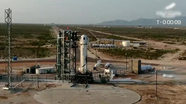 Jeff Bezos réalise le premier voyage de tourisme spatial grâce aux employés et clients d'Amazon