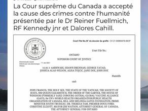 Un deuxième tribunal de Nuremberg a été déposé depuis la semaine dernière...