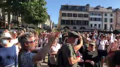 Manifestations en France contre la généralisation du PassSanitaire 17 et 18 juillet 2021