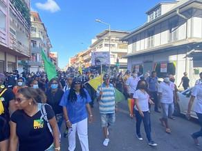 """Guyane: Appel à la grève générale : """"le principe de l'obligation vaccinale semble déjà ne pas tenir"""""""
