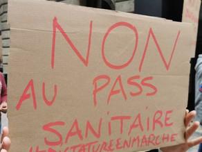 Liste des manifestations prévues contre le passe sanitaire le 23, 24, 25 et 26 juillet 2021