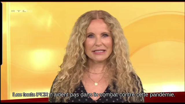 La télé allemande RTL admet que les tests PCR ne sont pas fiables.