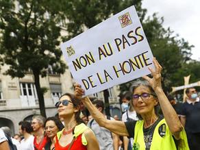 Listes des manifestations contre le pass sanitaire prévues le 7 aout 2021