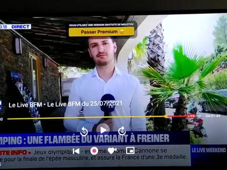 """""""Mensonge d'Etat"""" - Jean-Michel Claverie sur BFMTV"""