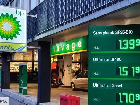 Ce que la hausse des prix de l'essence rapporte à l'Etat grâce aux taxes