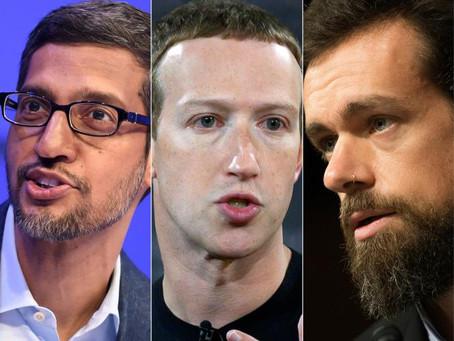 Les PDG de Facebook, Google et Twitter en accusation pour leur rôle dans la désinformation